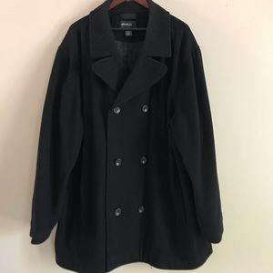 MEN'S EDDIE BAUER Black XXXL Tall Coat